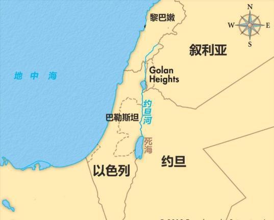 ▲巴勒斯坦、以色列问题是五次中东战争的根源