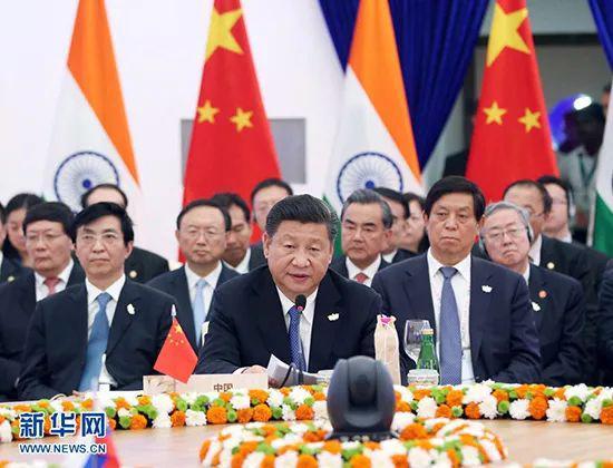 2016年10月16日,金砖国度指导人第八次会晤在印度果阿举行。中国国度主席习近平列席并发表重要讲话。新华社记者姚大伟摄