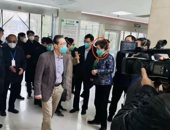 李兰娟、钟南山等专家在武汉考察疫情