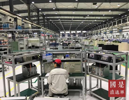 制造业,中美
