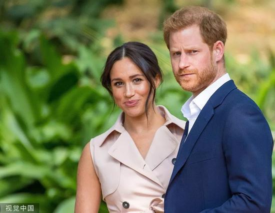 哈里王子夫婦近日走訪南非/視覺中國