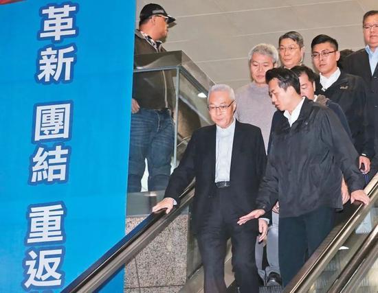 吴敦义跳过副主席指定另一人代理党主席 台媒纳闷图片