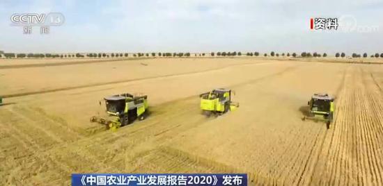 2020年我国粮食产量将达到6.7亿