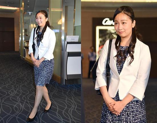 佳子公主结束英国留学生活,返回日本。