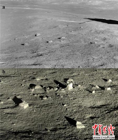 (嫦娥四号任务探测所获图像)