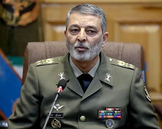 伊朗陆军总司令阿卜杜拉希姆⋅穆萨维。(图源:伊通社)