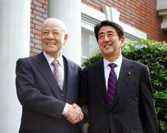 """李登辉曾说,日台是""""命运共同体""""。"""