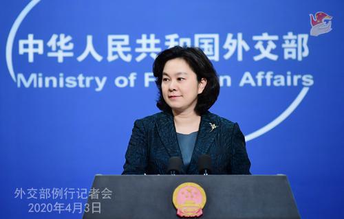 4月3日外交部例行记者会(全文)图片