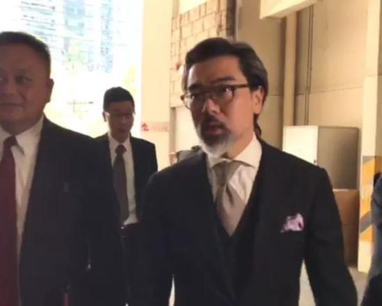 梁天琦的代理律师、资深大律师蔡维邦。(图:星岛)