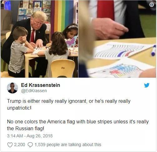 美利坚合众国总统居然犯了这种错误?