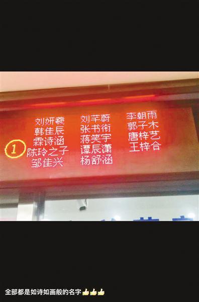 """孩子名字越来越""""琼瑶""""网友:几十年后欣怡变大妈时已立冬"""