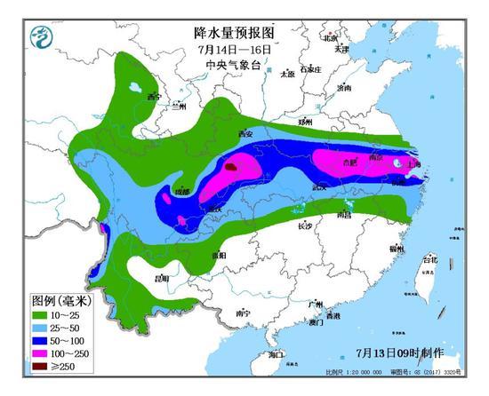 [杏悦]域将大范杏悦围强降雨气象部门谨防流域图片