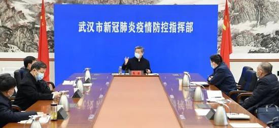 政治局常委会后,陈一新在武汉现场会上的表述有了新变化图片