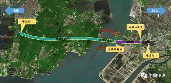 海头湾汕穿越底地道。平面图
