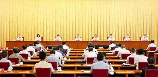 ·7月8日,全国政法队伍教育整顿试点工作动员会召开。