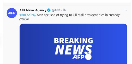 外媒:试图行刺马里临时总统的男子在被羁押期间死亡
