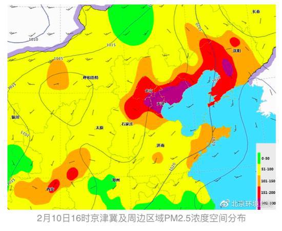 再等三天!13日夜间北京空气质量将逐步改善图片