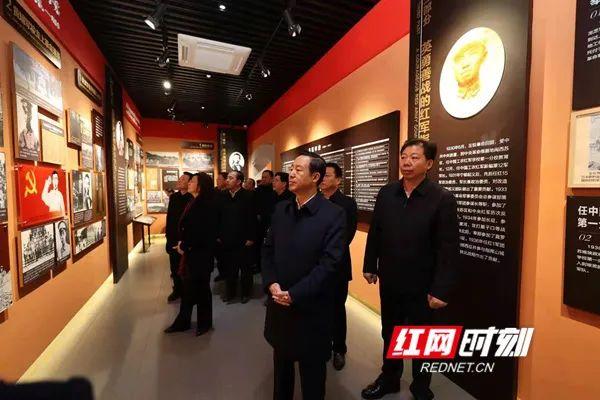 新年第一站 湖南省委书记许达哲为何到这里?图片