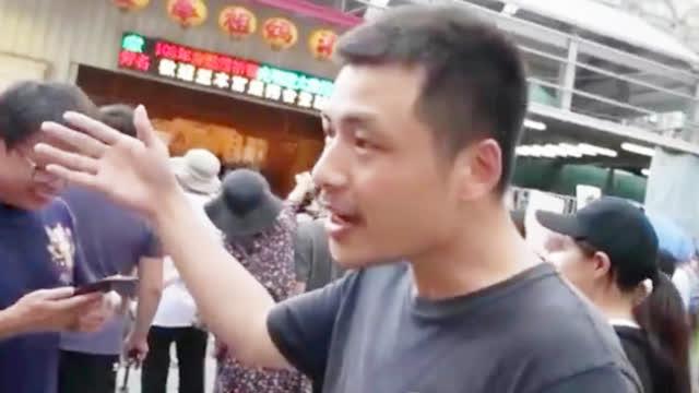 视频|大陆小伙怼台湾媒体:中国人都希望统一!