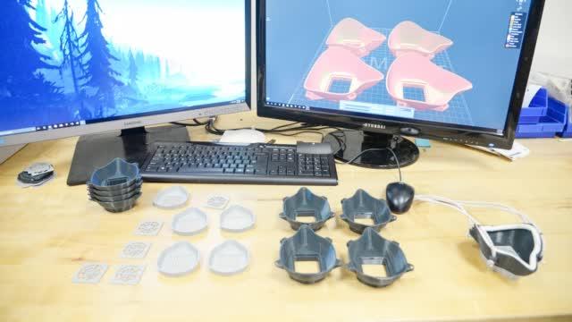 两天造了4个口罩!美军F-35战斗机部队用3D打印自制N95口罩