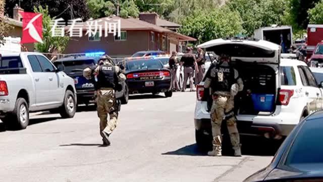 家庭纠纷引发警民枪战 美国警察调解时中弹身亡