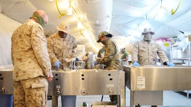 美军又一海外基地沦陷!驻科威特空军基地日前暴发新冠疫情