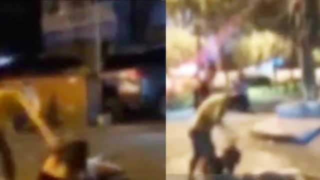 柳州一男子在街头暴打两女子 警方:一方殴打他人、一方涉嫌吸毒