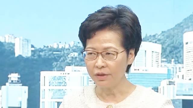 眼神犀利!林郑月娥撂狠话警告暴徒:勿以身试法 后果将相当严重