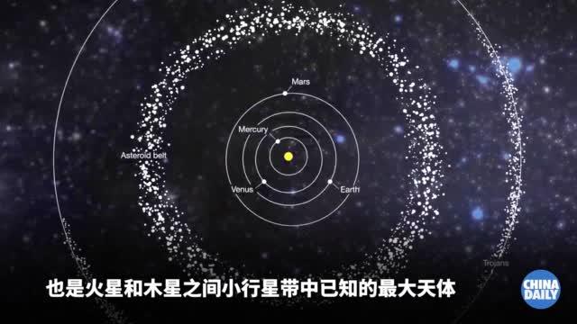 美国探测器在太阳系小行星上发现海洋
