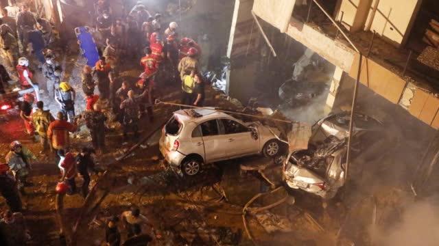 黎巴嫩首都贝鲁特发生爆炸 具体原因尚不清楚