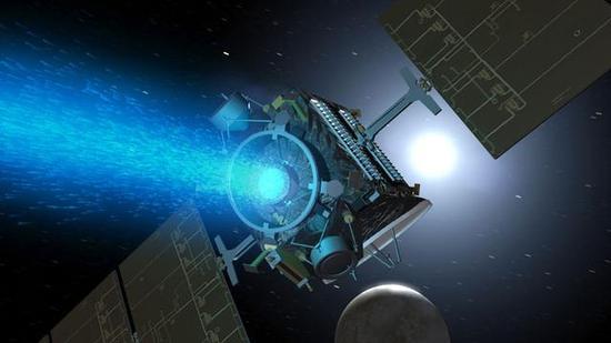 """""""黎明号""""使用的离子推进器(资料图)"""