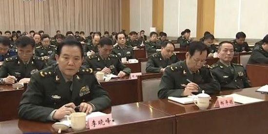 李晓峰中将任军委政法委书记 接任杜金才上将