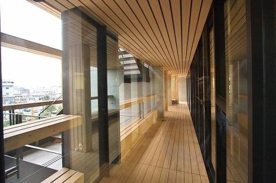 日本木料会馆(图像来历于收集)