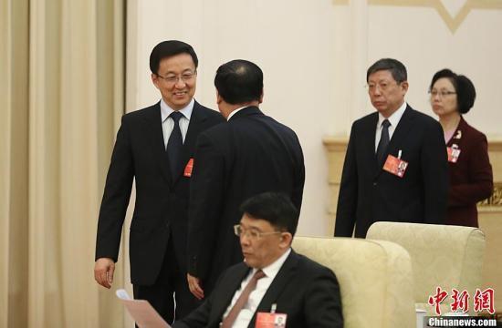 韩正:上海楼市过热必须加强调控