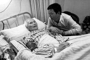 林老爷子在病床上号令杭州市民文化乘车。
