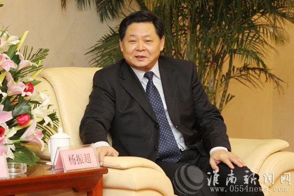 资料图:杨振超。淮南新闻网