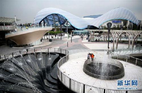 上海迪士尼乐土嫡天下景区。