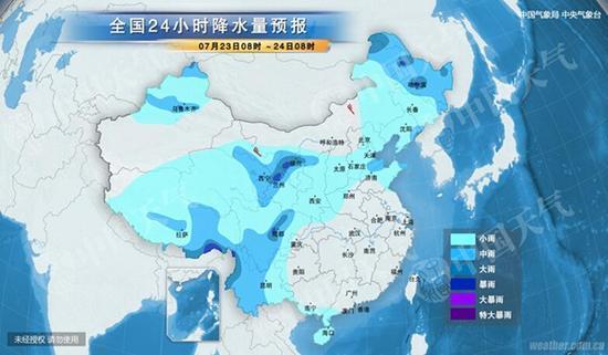 此外,今明天,四川盆地西部、云南中西部、西藏东南部等地有中到大雨,局地有暴雨(50~90毫米);上述局地伴有短时强降水、雷暴大风等强对流天气。