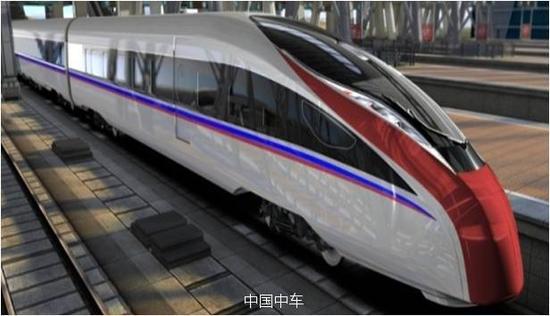 时速400千米可变轨距快速列车作用图
