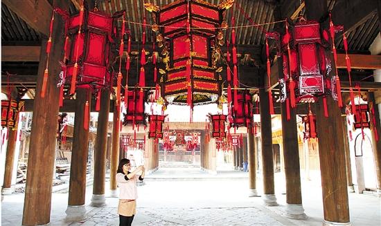 修复后的肇庆堂古建筑。 市委报道组 蔡凤 摄