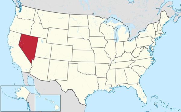 内华达州位置