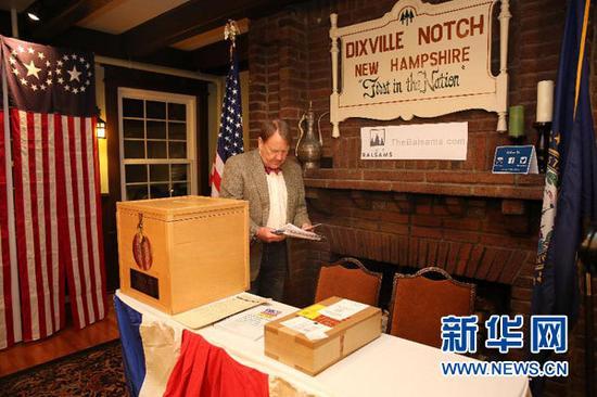 美国总统选举投票正式开始