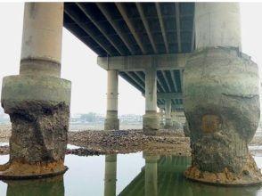 """湖南1座大桥建成6年桥墩成""""蜂窝"""" 专家评安全"""