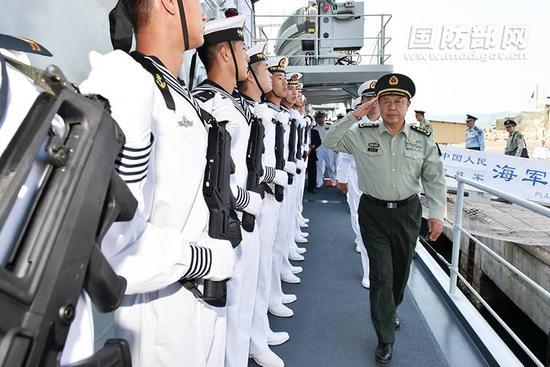 军委视察首个海外后勤保障设施 传递何种信号
