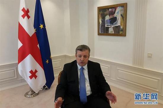 格鲁吉亚总统任命克维里卡什维利为新政府总理
