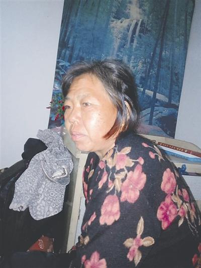 赵春华担心上诉会花很多钱,会拖累唯一的女儿。图为赵春华旧照