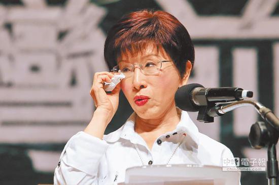 现任国民党主席洪秀柱