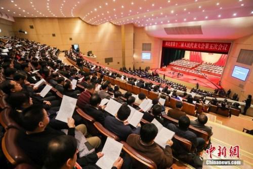 2017年1月15日,湖北省第十二届人民代表大会第五次会议在武汉开幕。