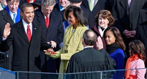 美国总统就职典礼的那些门道