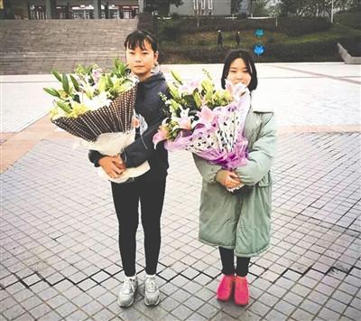 朱丽妍(左)和但余婷(右)